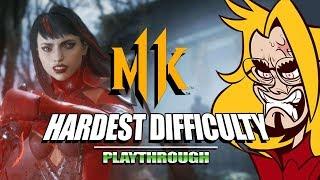 SKARLET SLICES 'EM UP: Mortal Kombat 11 - Very Hard Ladder (Stress Test)
