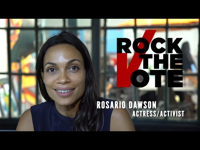 Rosario Dawson on Voting Rights || #TruthToPower