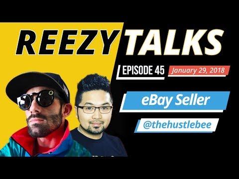 SELLING RETAIL ARBITRAGE SHOES ON EBAY | W/ KEN TheHustleBee  | REEZY TALKS #45