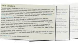 Cosmetic Dentist Matthews - Idlewild Family Dentistry (704) 893-0351 Thumbnail