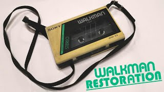 broken vintage SONY WALKMAN | Restoration & Repair