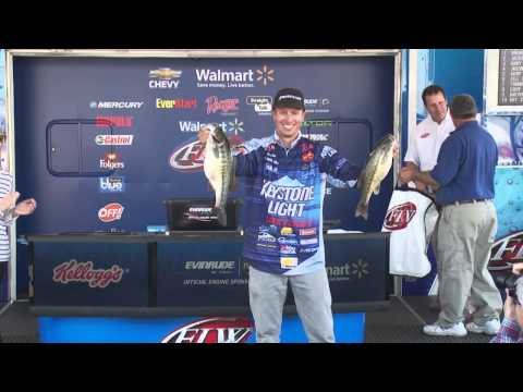 Keystone Light pro Brent Ehrler wins FLW Tour Lewis Smith Lake