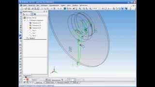 Создание 3d модели рабочего колеса (часть 1)