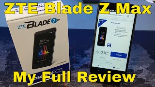 ZTE Blade Z Max for MetroPCS - Full Review - A great follow up to the ZMax Pro!