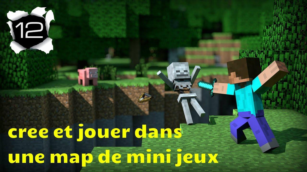 Minecraft cr e et jouer dans une map de mini jeux ep12 le labyrinthe yo - Jeux video de minecraft ...