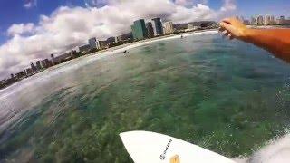 Surfing Hawaii - Ala Moana