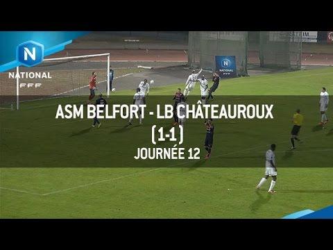 J12 : ASM Belfort – LB Châteauroux (1-1), le résumé