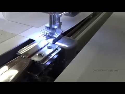 DigiSew™ • Cutting, Hemming And Sewing Of PVC/silicon Stripes On Banner