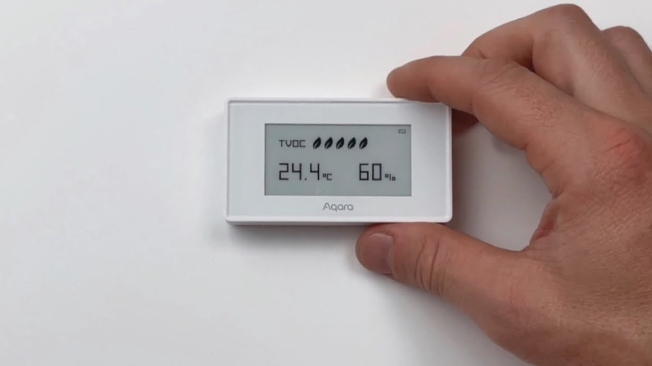 UNBOX- Aqara TVOC HomeKit Air Quality Sensor #SHORTS