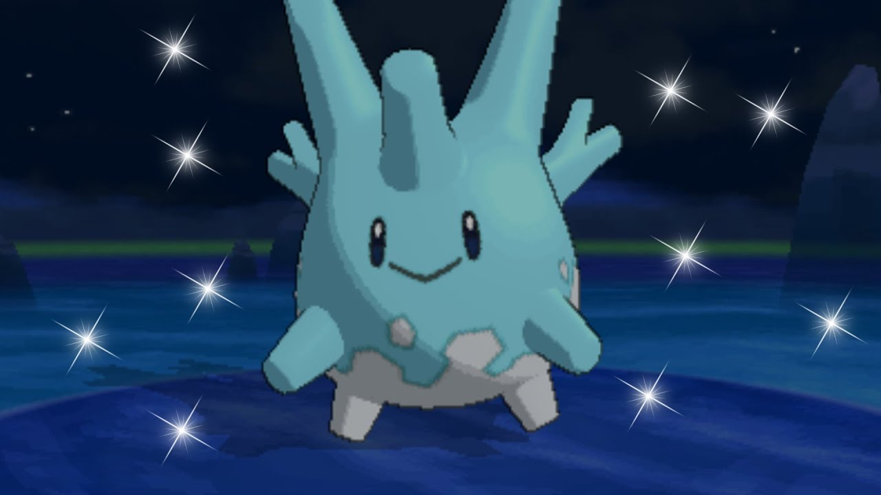 Pokemon X and Y - Catching Shiny Corsola! - YouTube