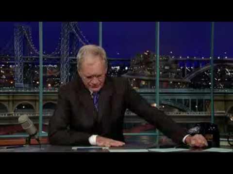 David Letterman - Marines Top Ten List