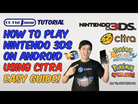 How To Play Nintendo 3DS Games / Pokemon On Android Mobile : Best Emulator For Android - Citra