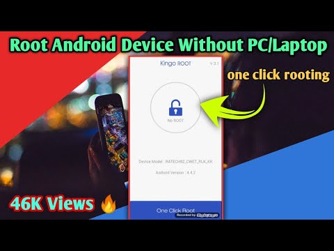 How To Root Android Device Without PC In Just  5 Minutes Using KINGO ROOT Apk...!!!