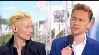 Only Lovers Left Alive (2013) Cannes Interview - Tom Hiddleston & Tilda Swinton
