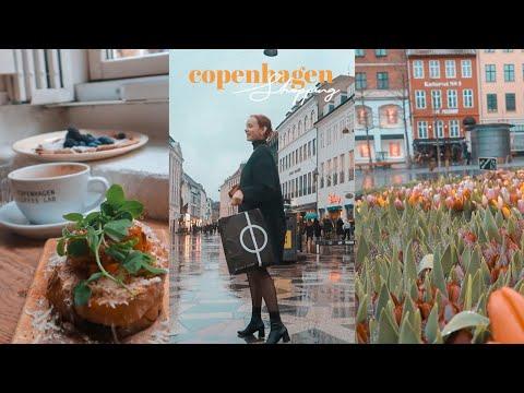 Let's Go Shopping in Copenhagen! 🌻 Fashion, Books & Food on Strøget | Sissel