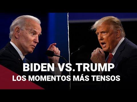 Estados Unidos: Repasa los momentos más tensos del primer debate presidencial entre Trump y Biden