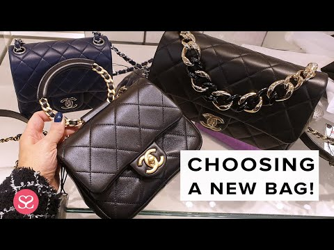 Help Me Choose A New CHANEL Handbag! + CRUISE COLLECTION 19/20 PRIVATE VIEWING