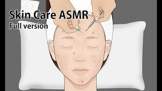 피부관리 ASMR 애니메이션 Full 버전 / 여드름 압출 / 레이저 치료 / 피부과 / 루루팡