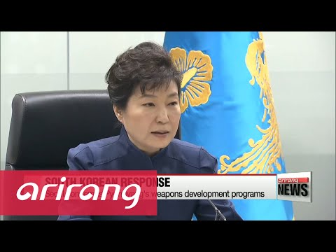 President Park calls emergency security council meeting on North Korea rocket launch