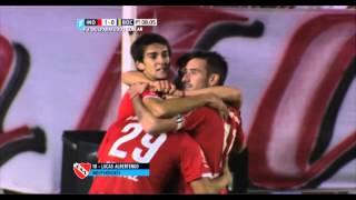 Gol de Albertengo. Independiente 1 - Boca 0. Fecha 12. Primera División 2015. FPT.