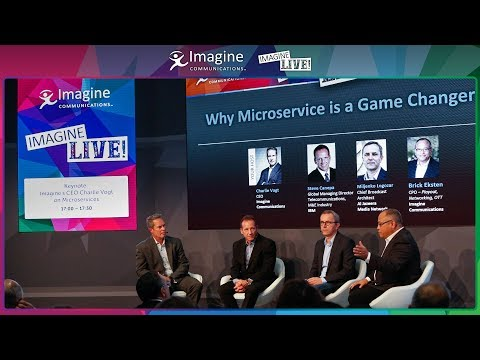 IBC2017 Keynote: Imagine's CEO Charlie Vogt on Microservices