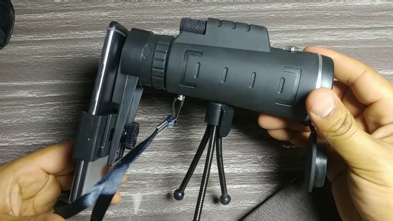 Gameit 40x60 hd mini telescópio monocular com tripé review pt