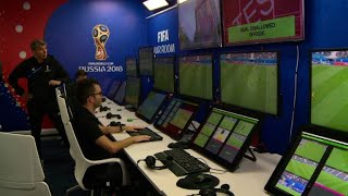 A look inside the Russian World Cup video referee centre
