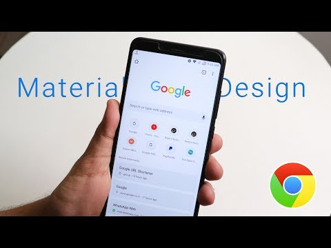 How To Get Google Chrome Material Design On Any Android Phone!