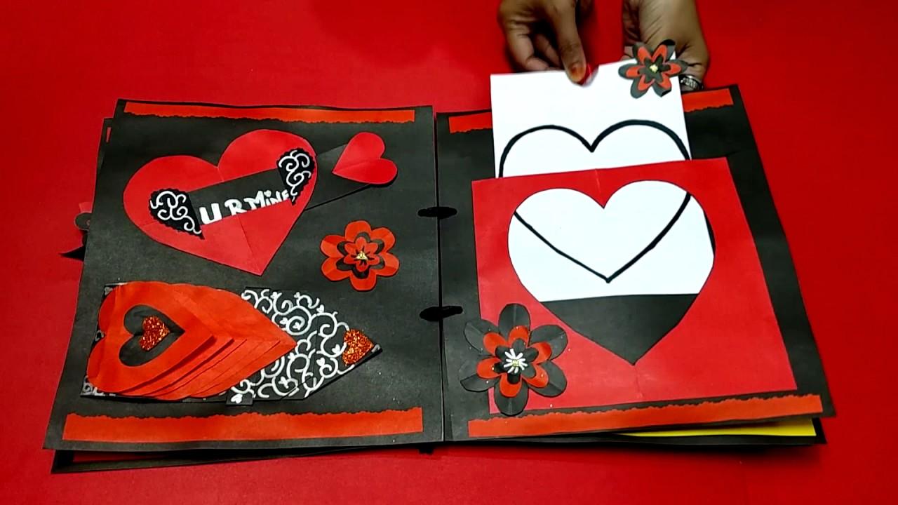 Forever always handmade anniversary scrapbook mini album