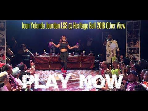 Icon Yolanda Jourdan LSS @ Heritage Ball 2018 Other View