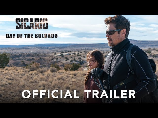 Increíble tráiler de Sicario: Day of the Soldado