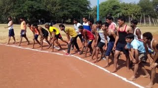 Special Boys 800 Meter Running Railway Group D | MP Police | MP SI