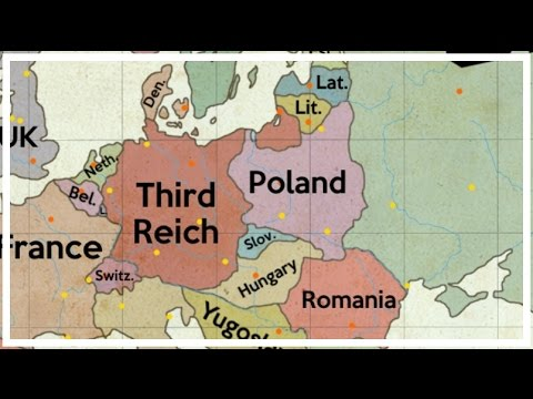 Alternate History of Europe #1 - Communists in Europe