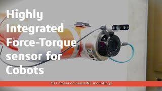 SensONE 6-Axis Force Torque Sensor for Cobots | BOTA