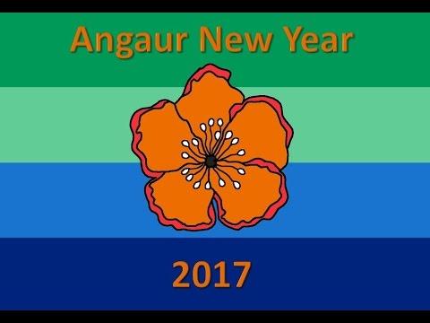 Angaur New Year 2017