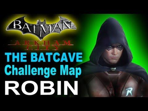 Batman Arkham City The Batcave Challenge Map Dlc