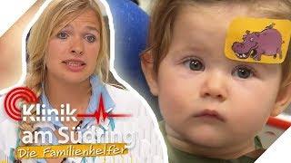 Baby hat üble Verletzung: Constanze Herzinger muss schnell handeln!   Die Familienhelfer   SAT.1