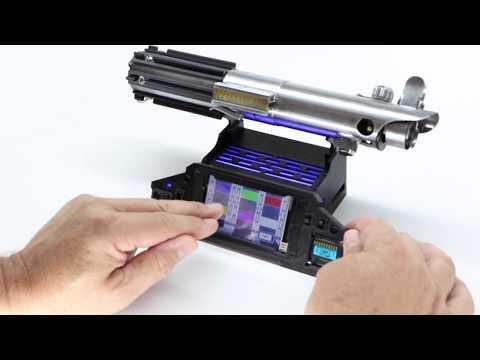 interactive saber stand