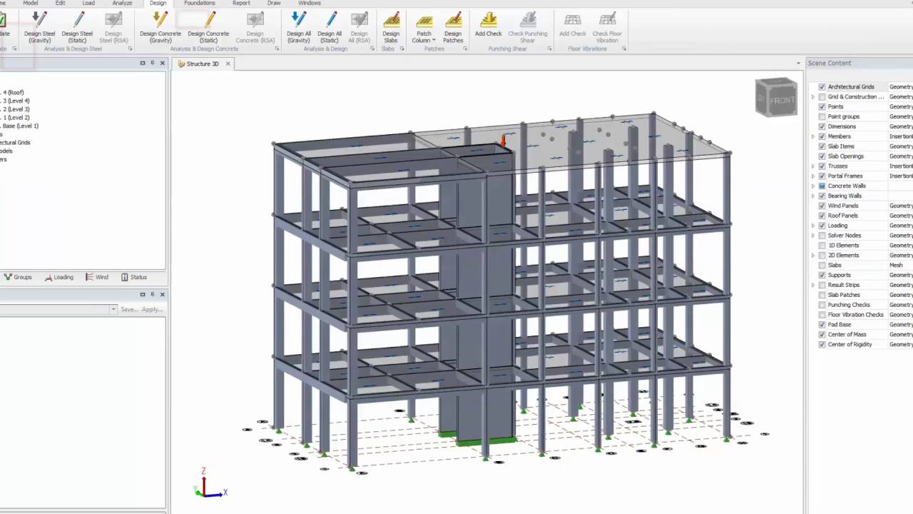 Slab Design in Tekla Structural Designer YouTube