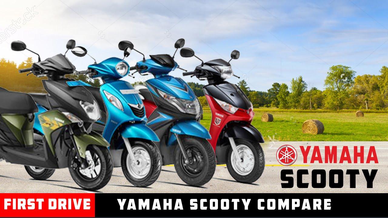 Yamaha Scooty List