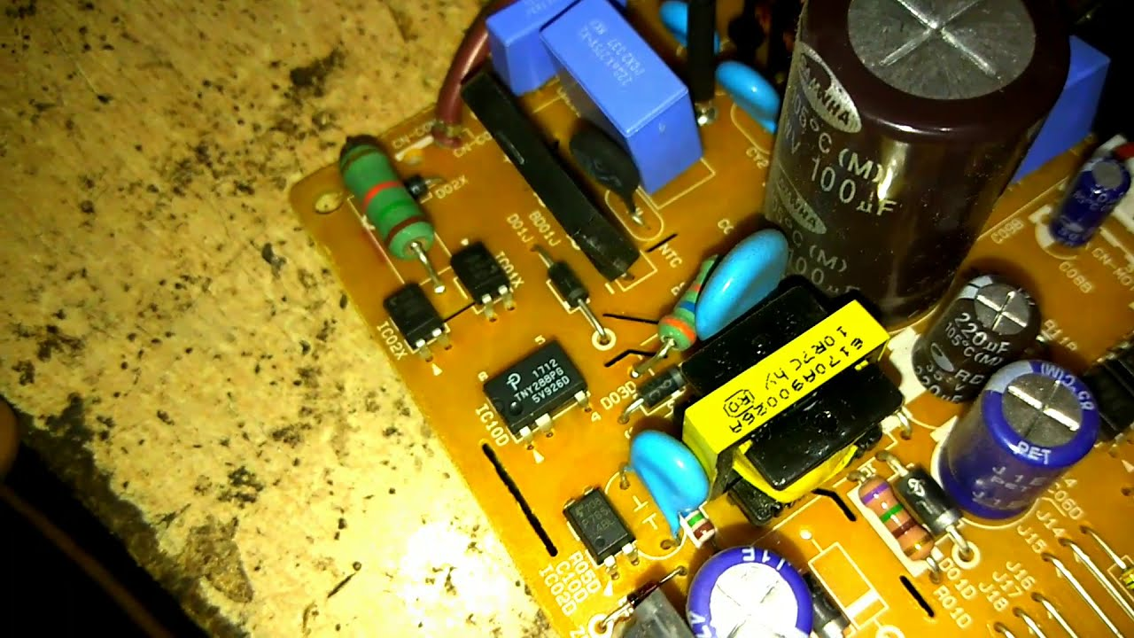 How to LG Inverter AC indoor and outdoor PCB repairing