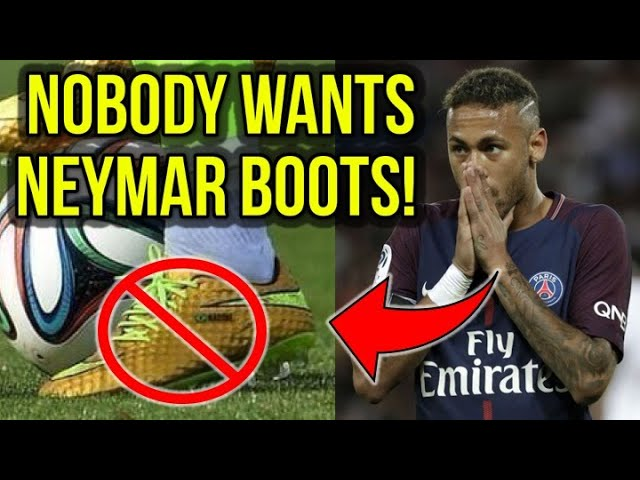 HERE'S WHY NEYMAR HAS BEEN A HUGE FLOP FOR NIKE!