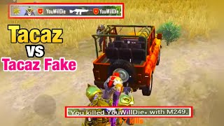 TACAZ vs TACAZ FAKE | Who Will WIN? | PUBG MOBILE