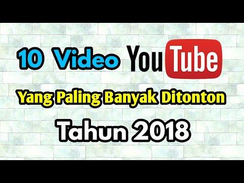 10 Video Youtube yang Paling Banyak Ditonton Tahun 2018 Mp3