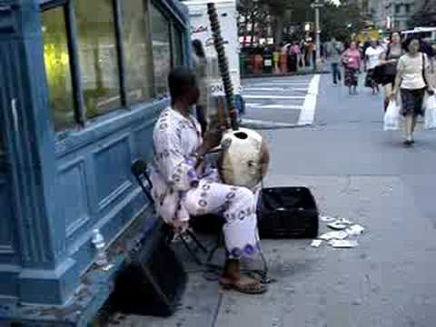 Balla Tounkara at Astor Place