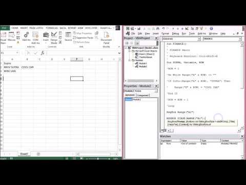 Learn VBA Fast Version: Learn VBA IN 30 Minutes |JOKO ENGINEERING|