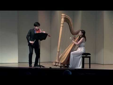 Bridget Kibbey and Siwoo Kim Play Bach