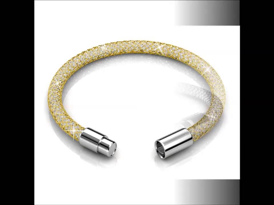 Her Jewellery Wire Mesh Bracelet ( Made with SWAROVSKI ELEMENTS ...