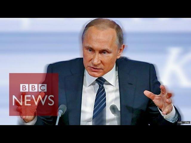 Vladimir Putin From Licking Americans To Praising Sepp Blatter Bbc News