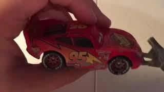 McQueen Monday: Lightning McQueen with shovel diecast review